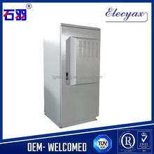 SK-345 Weatherproof enclosure for electronics/custom metal enclosure with 42U equipment capacity