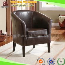 (SP-HC110) Custom made cheap antique vintage leather armchair