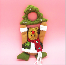 Vintage outdoor fabric doll for christmas decoration SD057