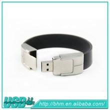 Leather Wristband Usb flash pen drive 3.0 Bracelet usb memory Flash Drive 128mb 1gb