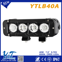 40w straight LED WORK LIGHT BAR chinese motorcycle engine accessories driving light car