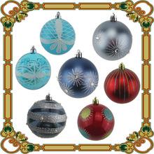 Decorative plastic christmas ornament