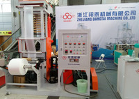 Auto Loading High Output Mini Film Extrusion Blowing Machine