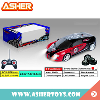 wholesale 1:24 6 functions 4wd plastic toy custom drift cars rc stunt car for boys