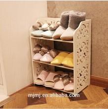 Over Door free standing White Storage Shoe Rack Holder