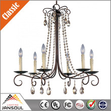 zhongshan wholesale wrought iron chandeliers crystals