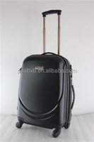 smile design cheap shiny skd trolley bags