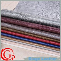 QG5593 2015 new products different kinds of fabrics with pictures raw material for women bag pvc leather