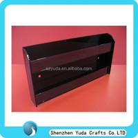 Customized nail polish display wall mount, two tiered display stand for nail polish