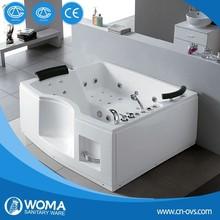 New Corner Whirlpool Massage Bathtub