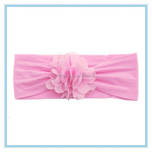 Infant headbands baby fower elastic hair bands
