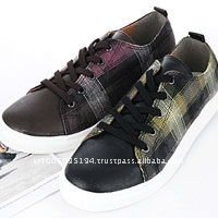ssd0172 mans woold blend laceup sneakers
