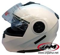 New design motobike double visor flip up helmet