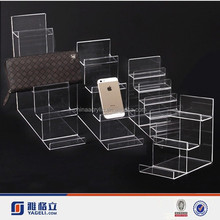 acrylic display stand for iphone,/ mobile phone stand holder, acrylic cell phone holder
