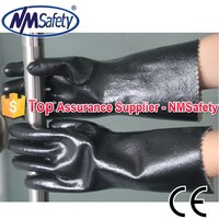 NMSAFETY cotton coated neoprene fishing hand safe gloves