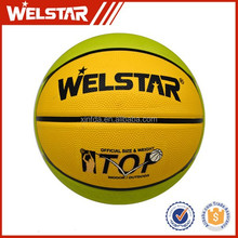 Size 1/2/3/5/6/7# rubber basketball wholesale for kids /children/mini basketball