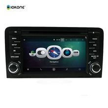 7'' Android 4.4 car dvd player for Audi A3 2003-2011 with GPS Bluetooth WIFI 3G Multimedia HD 1080P Car Stereo