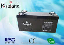 Manufacture 12v 200Ah deep cycle battery for inverters/ups
