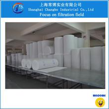 Non woven polyester fiber air filter material/eu3 air filter media