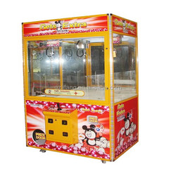 OEM/ODM wooden frame gifts crane claw machine/toy vending machine for amusement park and market