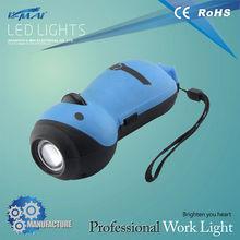 Energy saving chinese Hand cranked portable flashlight