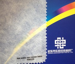 Hot water soluble non-woven fabric Embroidery backing