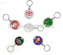 Famous brand metal key chain/high quality gifts