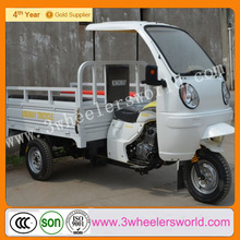 2015 Chongqing 250cc Gasoline Cheap New Design Cargo Tricycle With Cabin For Cargo
