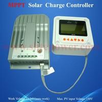 10A Solar Panel Charge Controller , 12V 24V Auto Work MPPT Solar Controller Max 150V Input