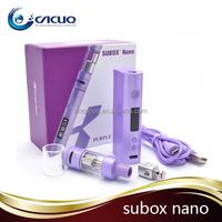 2015 best seller kanger subox nano starter kit Magnetic Battery Door subox nano 18650 battery mod kanger subox malaysia