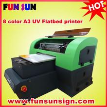 8 color A3 flatbed Mug printing machine Phone Case Printer Card Printer