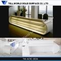 Marbre artificiel comptoirs de réception design/spa, comptoir d'accueil