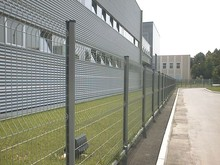 low price palisade steel fence (with ISO9001 and SGS)