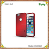 3 in 1 Red Strong Box TPU + PC Hybrid Combo Cover For iphone 6 Plus Stand Case