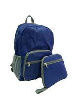 Travelocity nylon lightweight foldable backpack