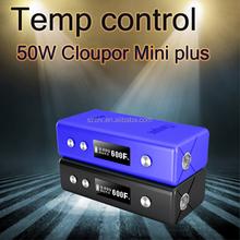 Cloupor latest box mod cloupor mini plus 50w tc vape box mod best selling e-cig mod wholesale china school girl sex photos