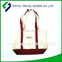 Manufacturers Supply Environmental Handle Canvas Shopping Bag