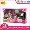 DEFA mini plastic doll for children