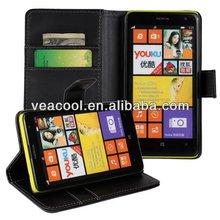 Black Flip mobile phone Leather Case for Nokia Lumia 625 Leather Case