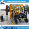 Self-propelled hydraulic bored piling machine