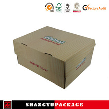 Rigid paper box fashion shoe boxes China factory direct