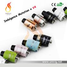 American design rda Indulgence Mutation X V4 vapor supply e cigarette atomizer by Unicig
