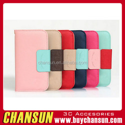 Guangzhou Supplier Leather Wallet Mobile Flip Cover Case For LG G4