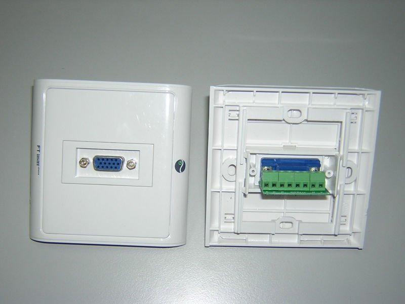 Vga / Monitor / Lcd Tv / Projector Face Plate - Buy Face ...