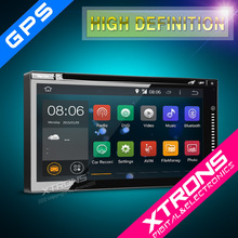 """Xtrons TD696A- 2015 NEWEST 6.95"""" Android 4.4.4 KitKat Quad-Core Touch Screen WiFi Double Din Car Multimedia Nagvigation System"""
