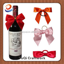 Eco-Friendly wine charm bar accessories type ribbon wine charms