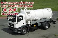 Hot Sale 6x4 FOTON 16CBM Vacuum Tanker Truck