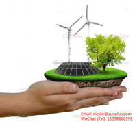 working models solar energy for earth protection