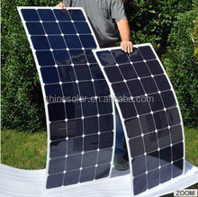 Hot sell low price light weight black friday solar panel deals for RV / Boats