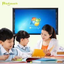 """China 32 táctiles infrarrojos 65 """" monitor LED de pantalla táctil, todo-en-uno para PC con precio de fábrica"""